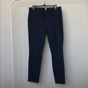 Gap Leaf-pattern Ankle Pants